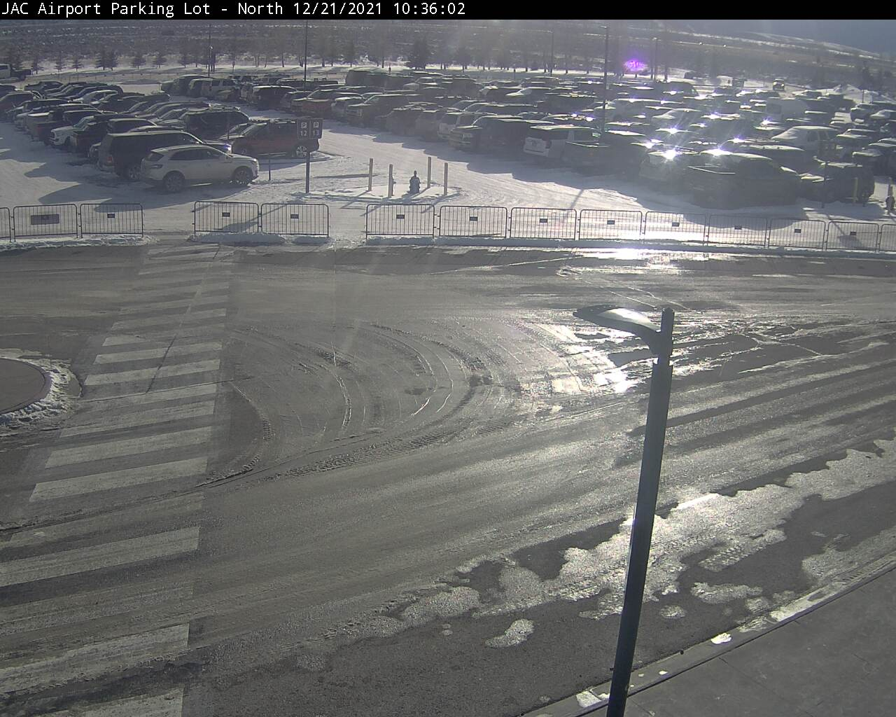 Jackson Hole Airport Webcam - North Parking Lot